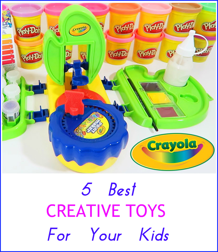 Best Crayola Toys For Kids : Top creative activity toys to buy kids toy of the year