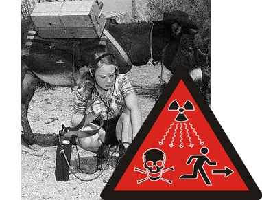 how to detect radiation without a geiger counter