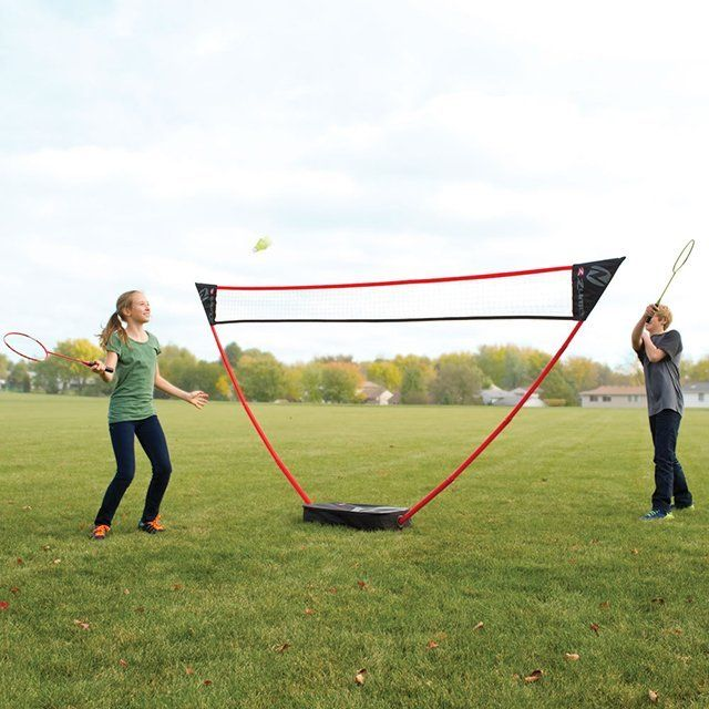 Play Badminton Anywhere With The Instant Badminton Court