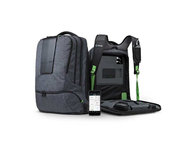 Ampl The World S First Smart Backpack Is A Complete