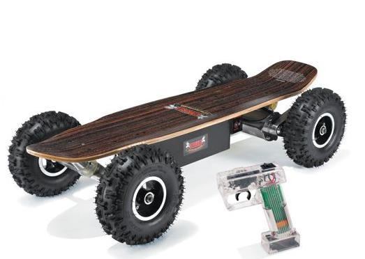 death wish materialized motorized off road skateboard. Black Bedroom Furniture Sets. Home Design Ideas