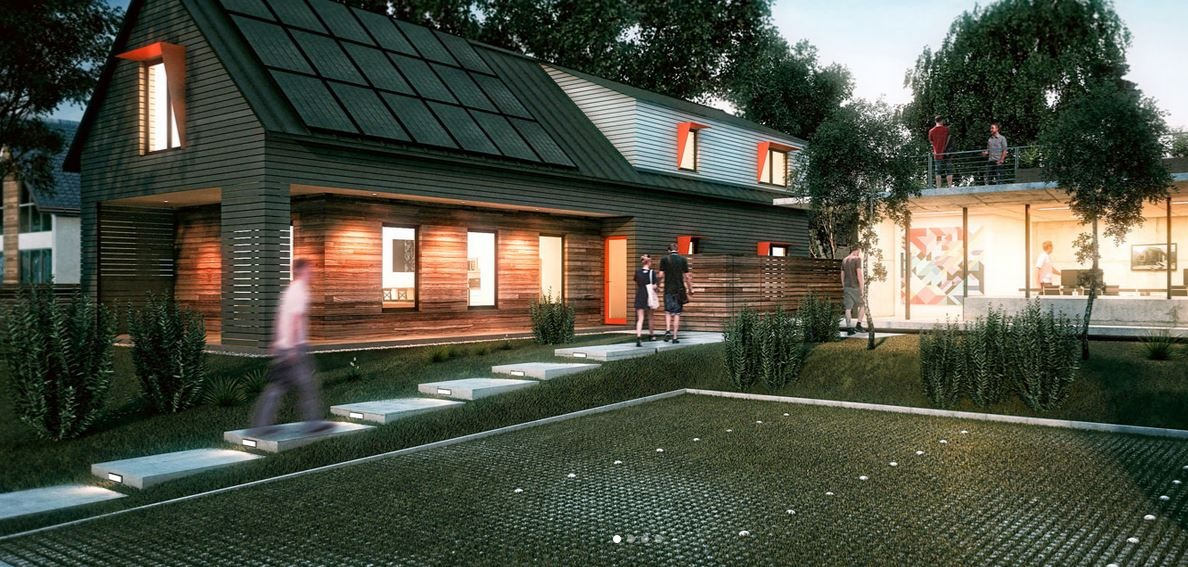 Axiom is a zero energy home for Zero net energy home