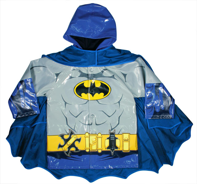 The Batman Raincoat By Western Chief Kids Defends Against