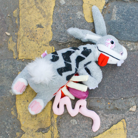 Grown Up Toys : Road kill stuffed animals are all grown up and seriously