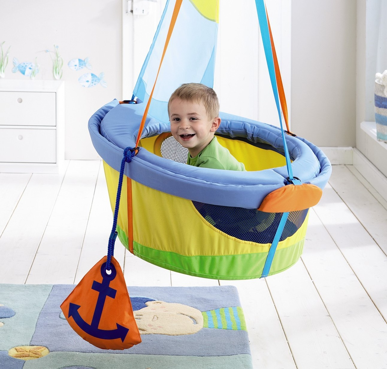 sc 1 st  InventorSpot & Let Your Toddleru0027s Imagination Set Sail With HABAu0027s Swing Ship Ahoy