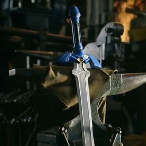 Master Smith Forges Video Game And Fantasy Weaponry On YouTube