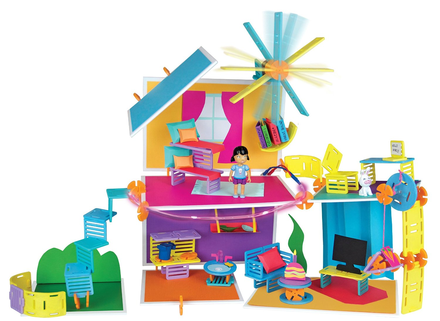Toy For Ages Five To Seven : Roominate is a diy building kit for future female engineers