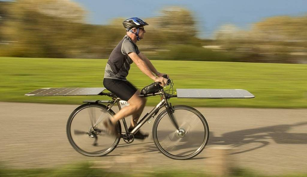 Maxun One Is The World S First Solar Powered Bicycle