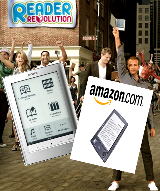 Kindle Vs Sony Reader: Sony Reader Vs Amazon's Kindle