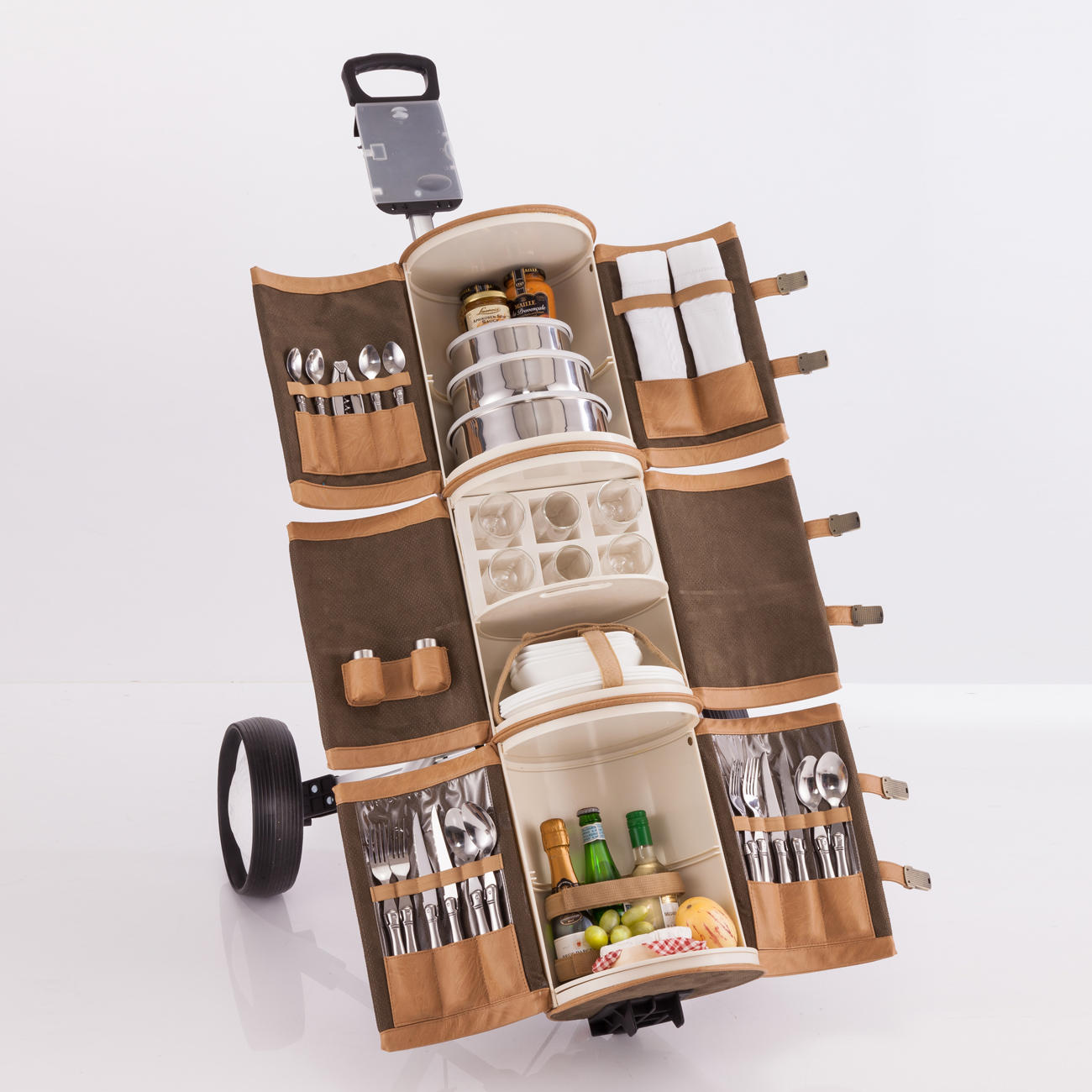Make Your Picnic Posh With The Picnic Trolley