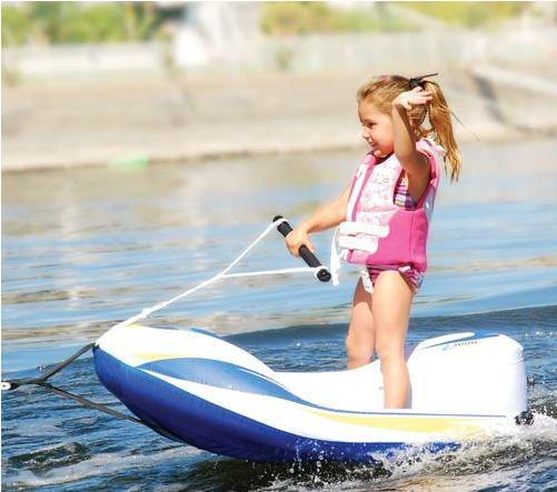 Water Skiing For Tikes Inflatable Jet Water Ski