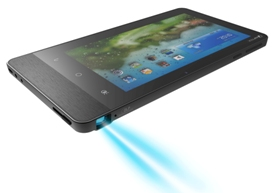 Aiptek ProjectorPad P70: Android Tablet With Built-In Projector