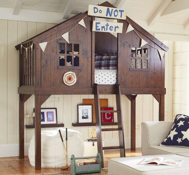 Your Growing Baby Can Still Rock The Tree Tops With A Treehouse Bed