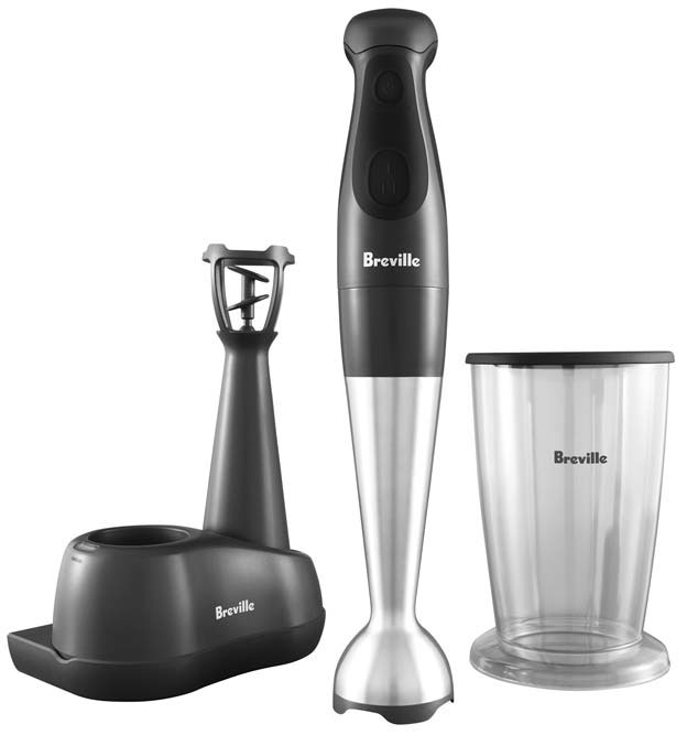 Cordless Hand Mixer ~ The breville cordless hand blender does everything but