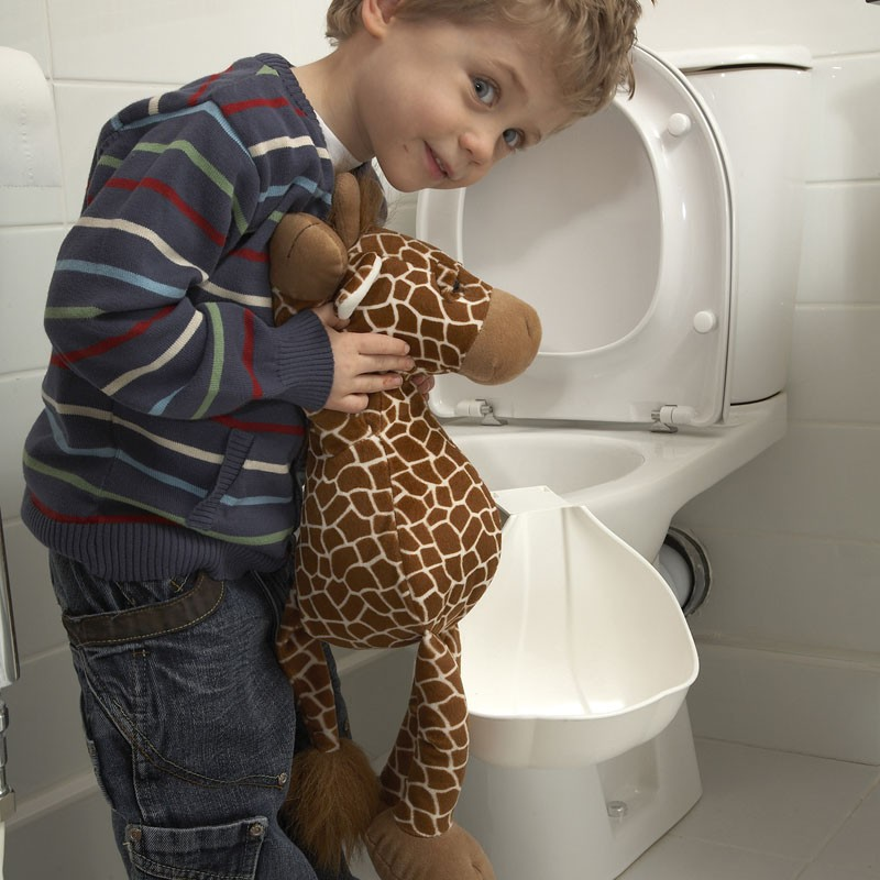 The Boy S Toilet Trainer Helps Your Little Guy Learn To
