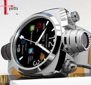 Hyetis Crossbow – Feature-Packed Smartwatch with a 41-Megapixel Camera