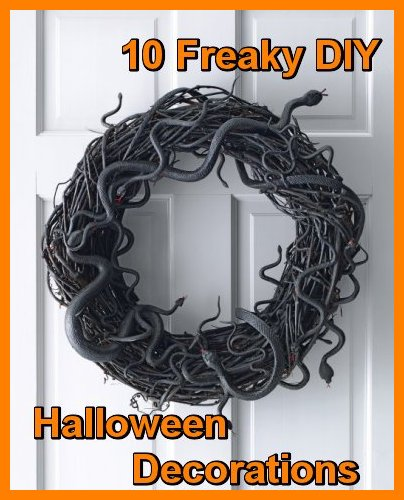 Ten Epic DIY Halloween Decorations Sure To Make Guests Freak