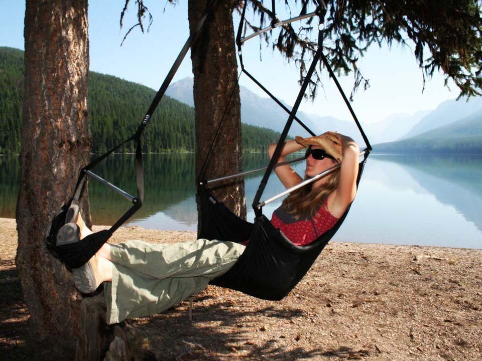 Enjoy The View In The Eagles Nest Outfitters Lounger