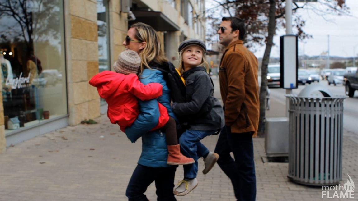 The Freeloader Keeps Parents On The Move When Little Legs Get Tired