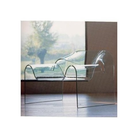 Glass Ghost Chair