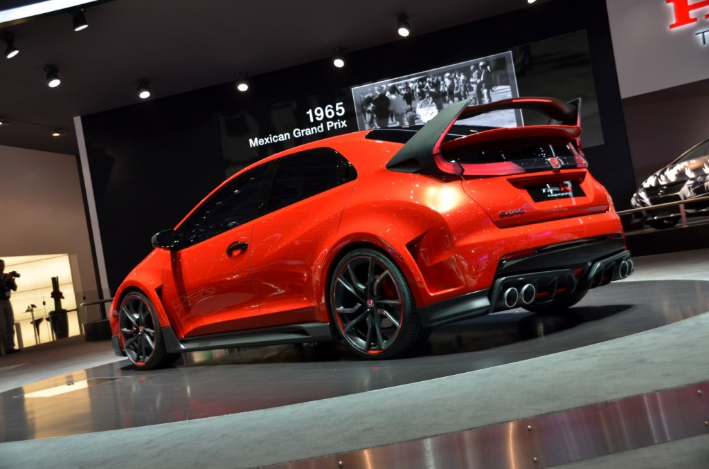 2015 Honda Civic Type R Concept Ready For The Road Inspired By The