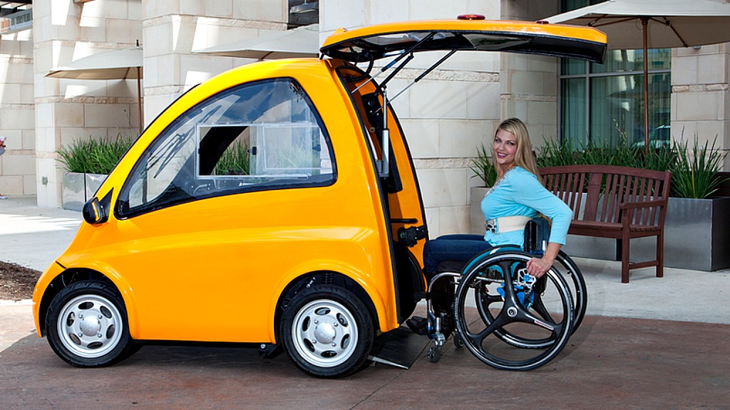 Hop Into Kenguru, The Electric Car Designed For Wheelchair Users