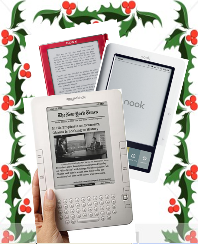 Kindle Vs Sony Reader: Kindle Vs Nook Vs Sony E-Reader