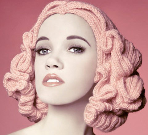 Want This New Invention? Knitted Wigs