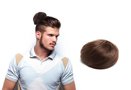 Clip In Man Bun Gives Guys More Styling Options