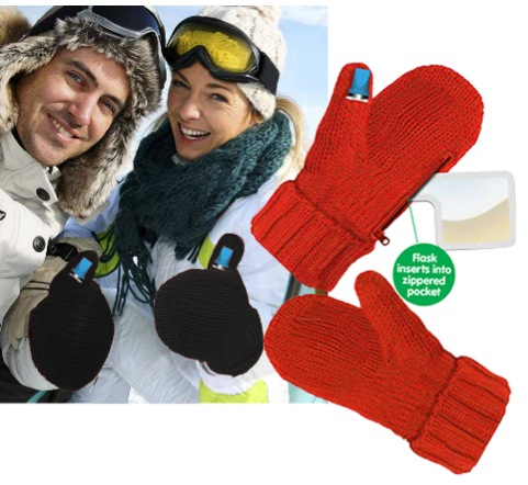 Fight The Cold With Booze Smuggling Mittens