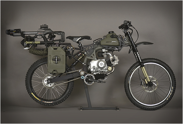 Motopeds Survival Bike Black Ops Edition Offers