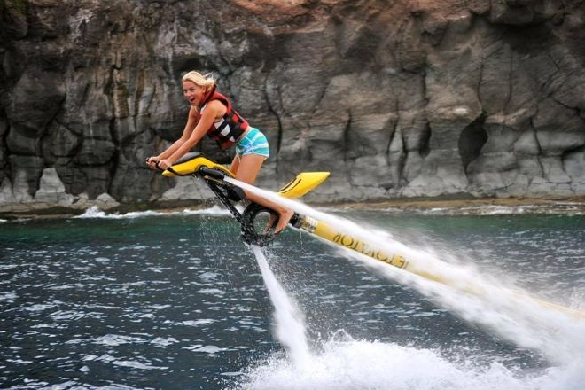 Fly High Above The Water With The Jetovator