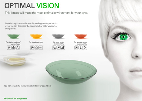 Optimal Vision Contact Lenses Enhance Vision By Filtering