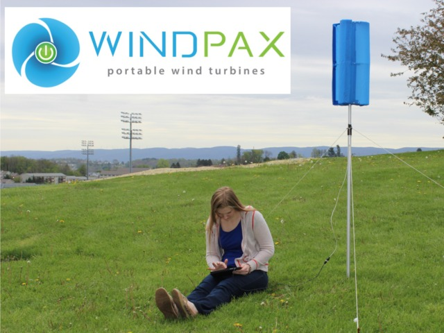 Harness Wind Energy With The Portable, Collapsible WindPax Wind Turbine