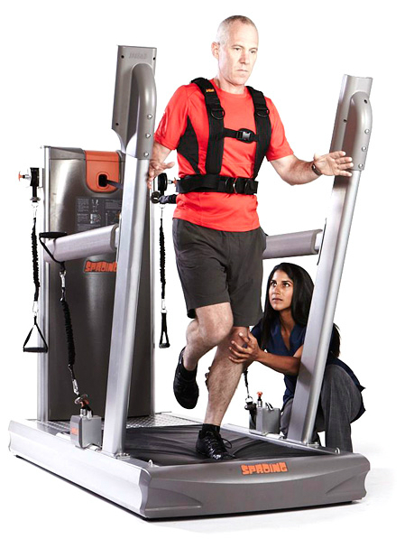 Sproing is an unique version of the treadmill and