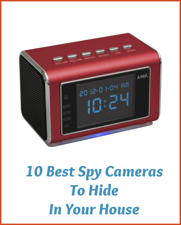 Cameras to hide in your house