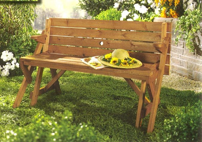 Double Duty: Is It A Picnic Table Or A Bench?