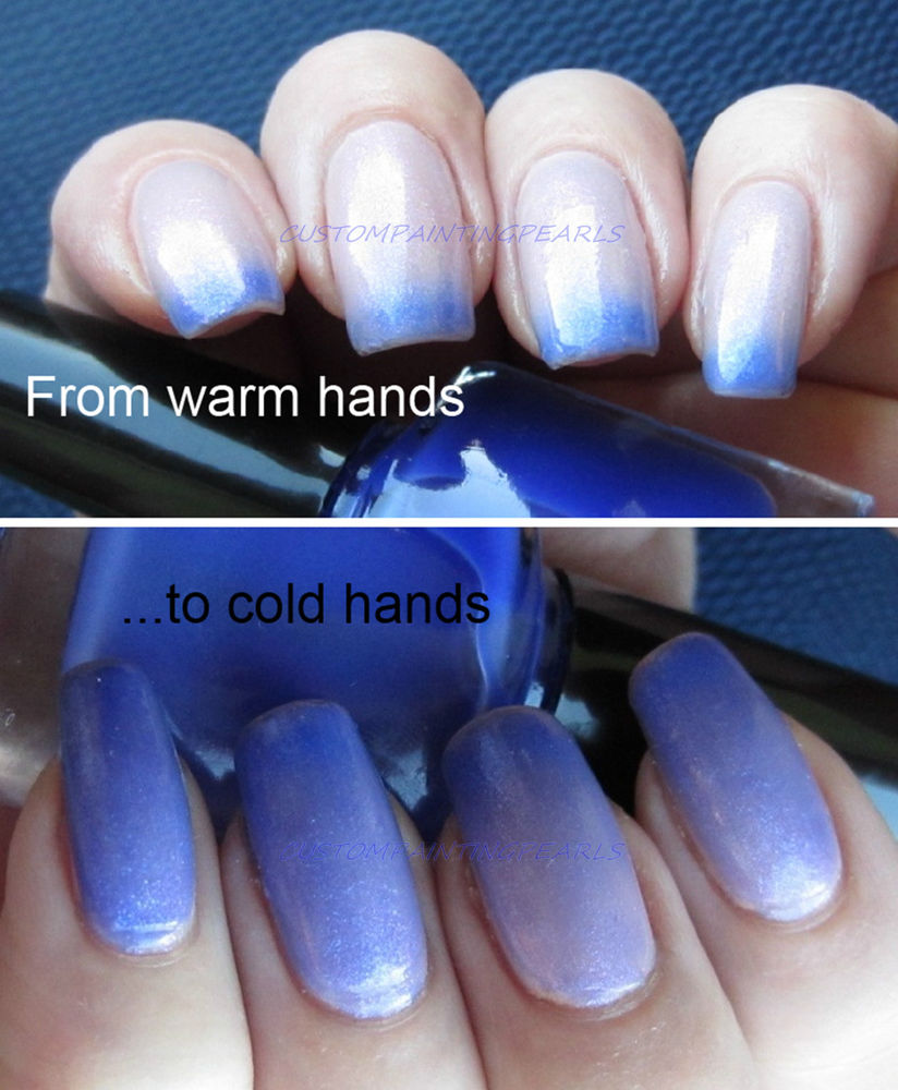 Your Thermochromic Nails Can Change With The Temperature