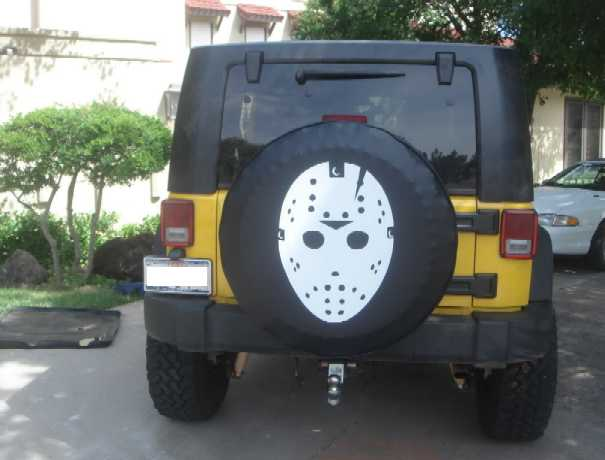 Spare Me The Top 13 Scary Spare Tire Covers