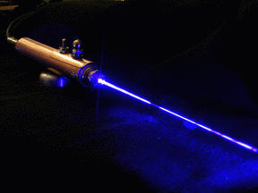 Not really a dark laser, but you get the idea.