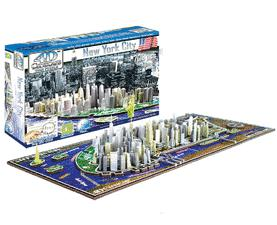 New York City Skyline 4D Puzzle