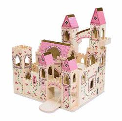 Melissa and Doug folding princess castle.