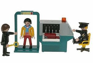 The Playmobil Security Check Point