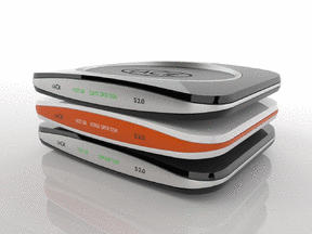 Lacie S2.0 stackable hard drive.