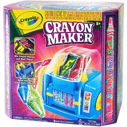 New Crayola Crayon Maker