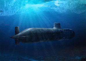 Submarines - new cloaking technology may make them sneakier