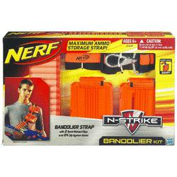 Nerf Bandolier - for making foam wars more fun.