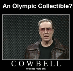 Christopher Walken and an Olympic Collectible!
