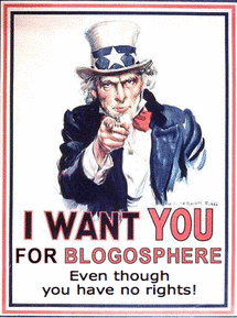 Uncle Sam & Bloggers
