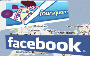 Foursquare vs Facebook!